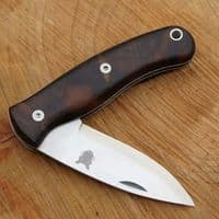Mk III TBS Boar EDC Folding Pocket Knife - Turkish Walnut - Scandi